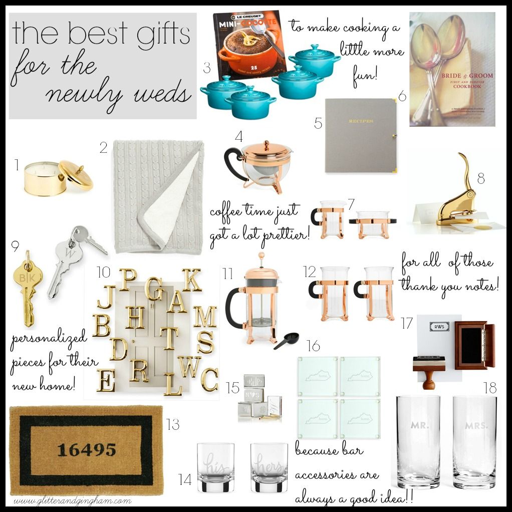 Gifts For Newly Weds: The Best Gifts For Newlyweds