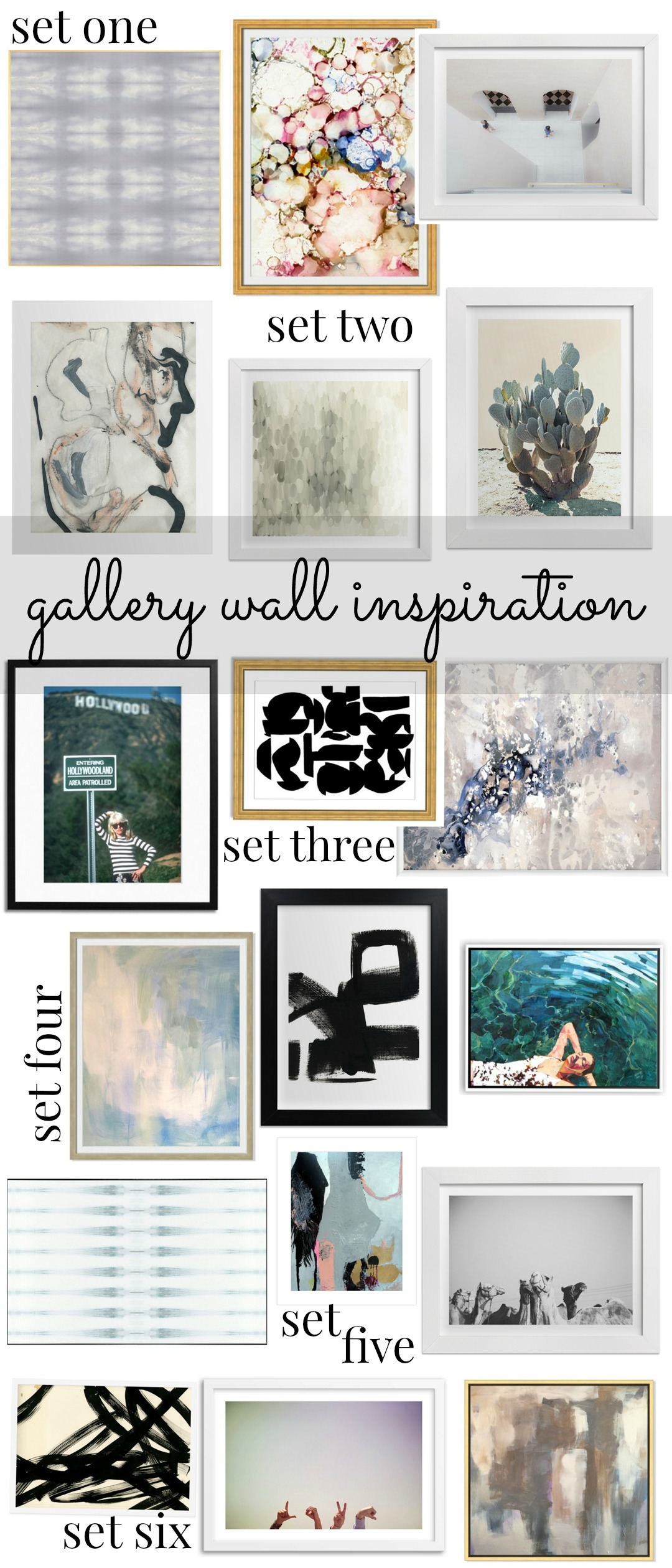 Home Is Where The Heart Is Gallery Wall Inspiration