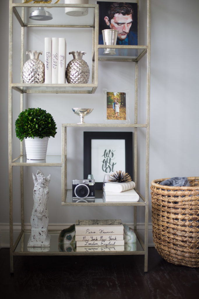 3 Ways To Style A Bookcase Glitter Amp Gingham