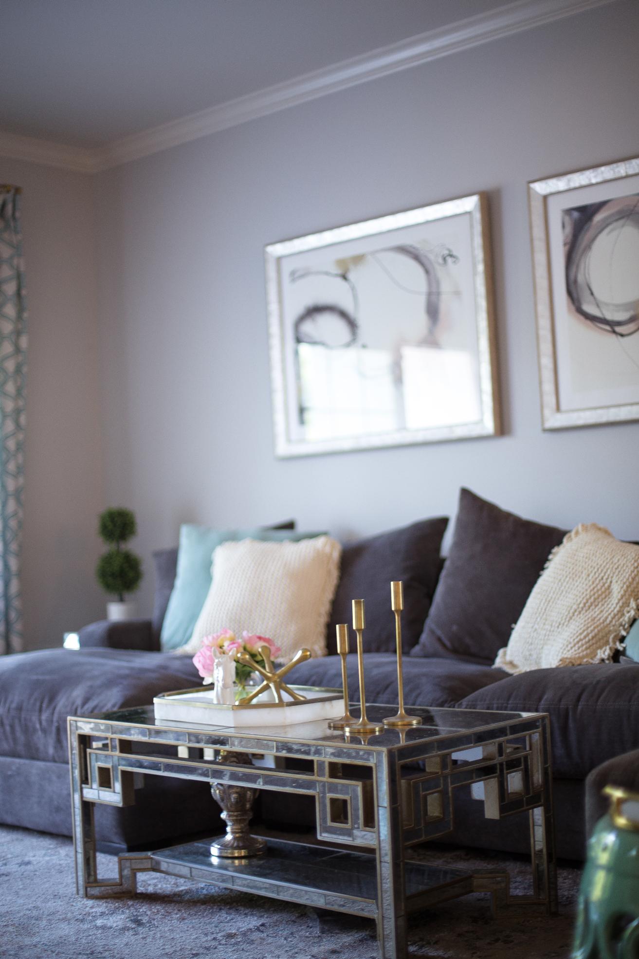 Our Living Room Glitter Amp Gingham