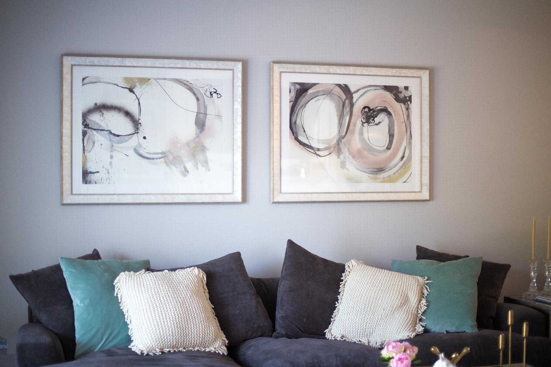 our living room - Glitter & Gingham