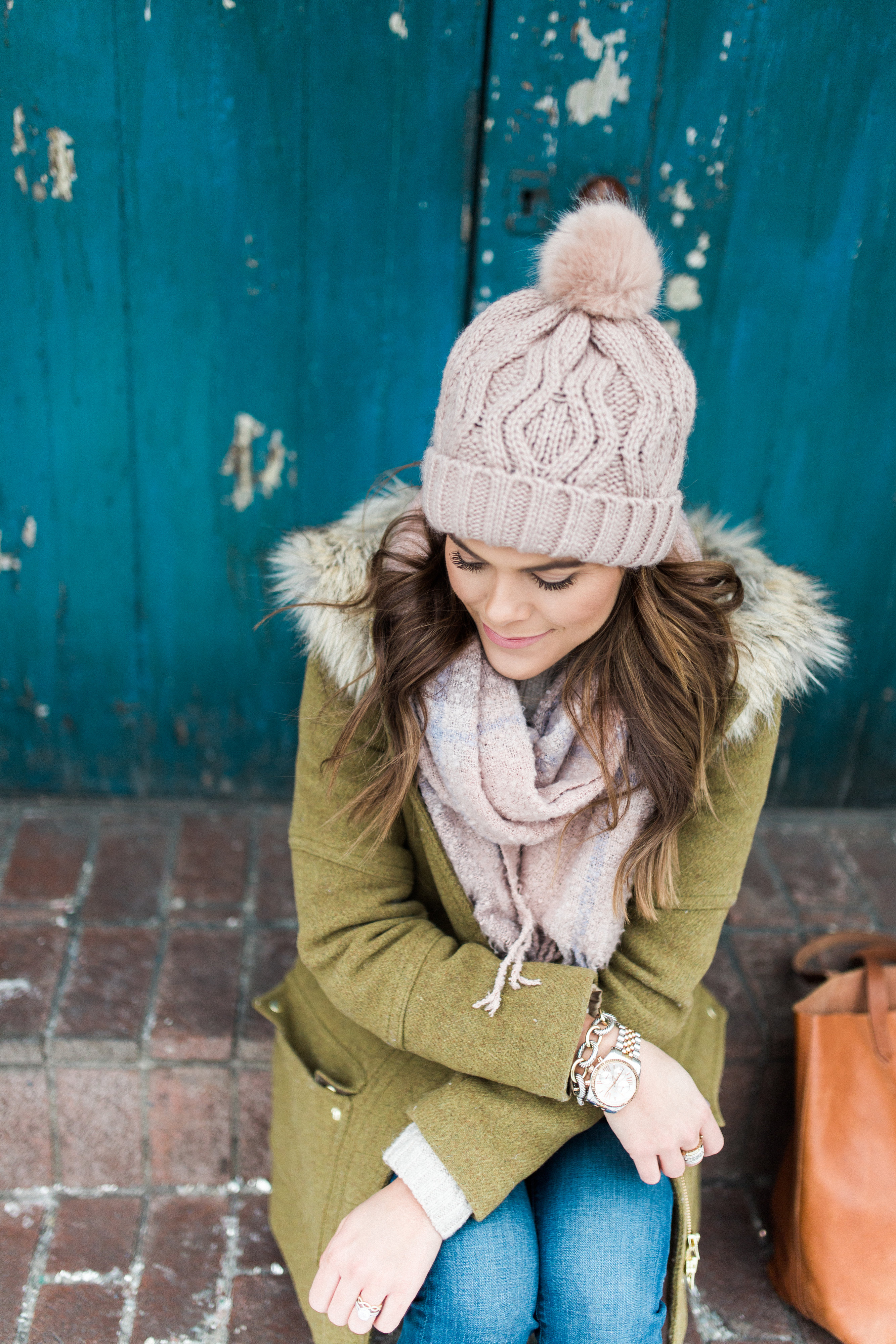 Winter Outfits to Copy:: Ft. J. Crew Parka, Madewell Transport Tote, LOFT Jeans
