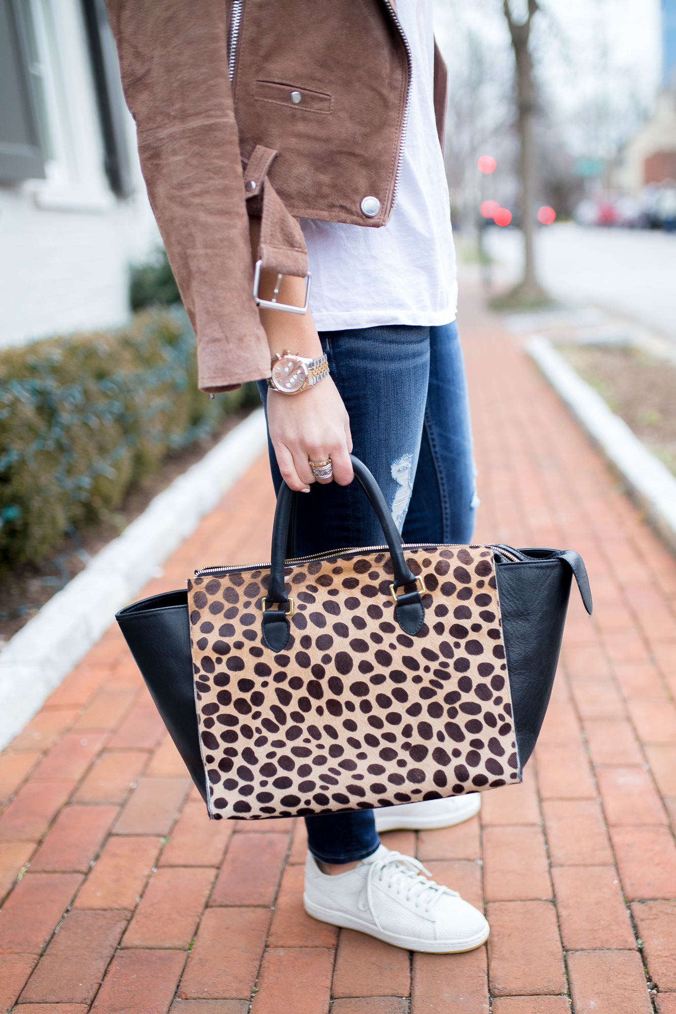 My Outfit of the Week: Sequins and Denim
