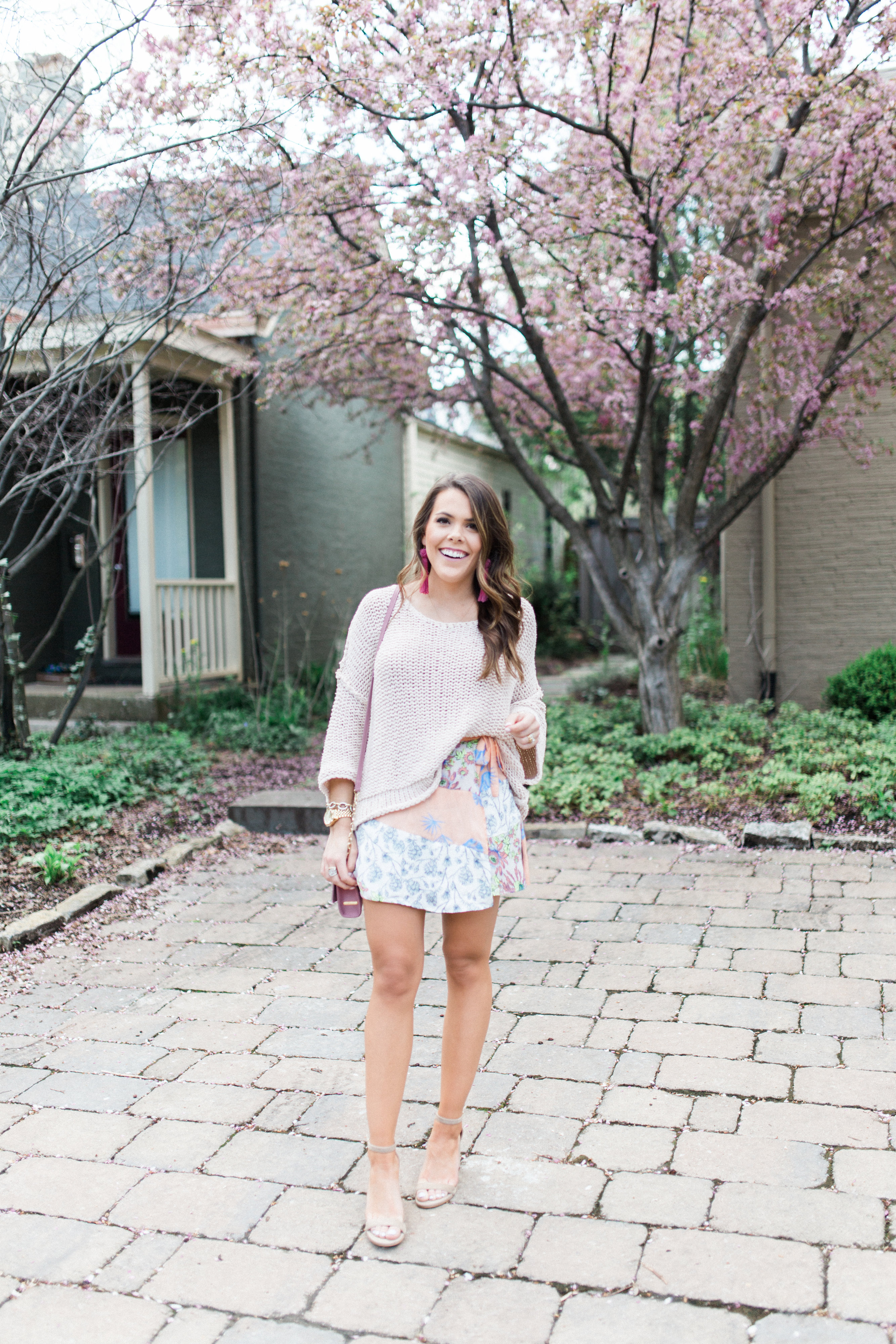 Free People Skort // Spring Outfit Inspiration