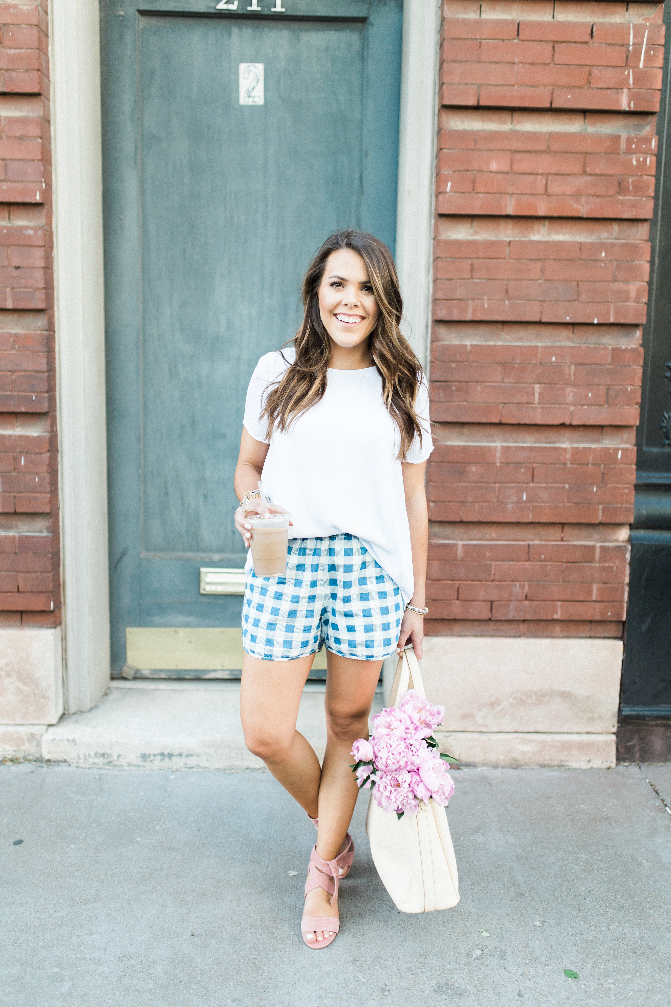 Gingham Shorts / Casual Spring Style