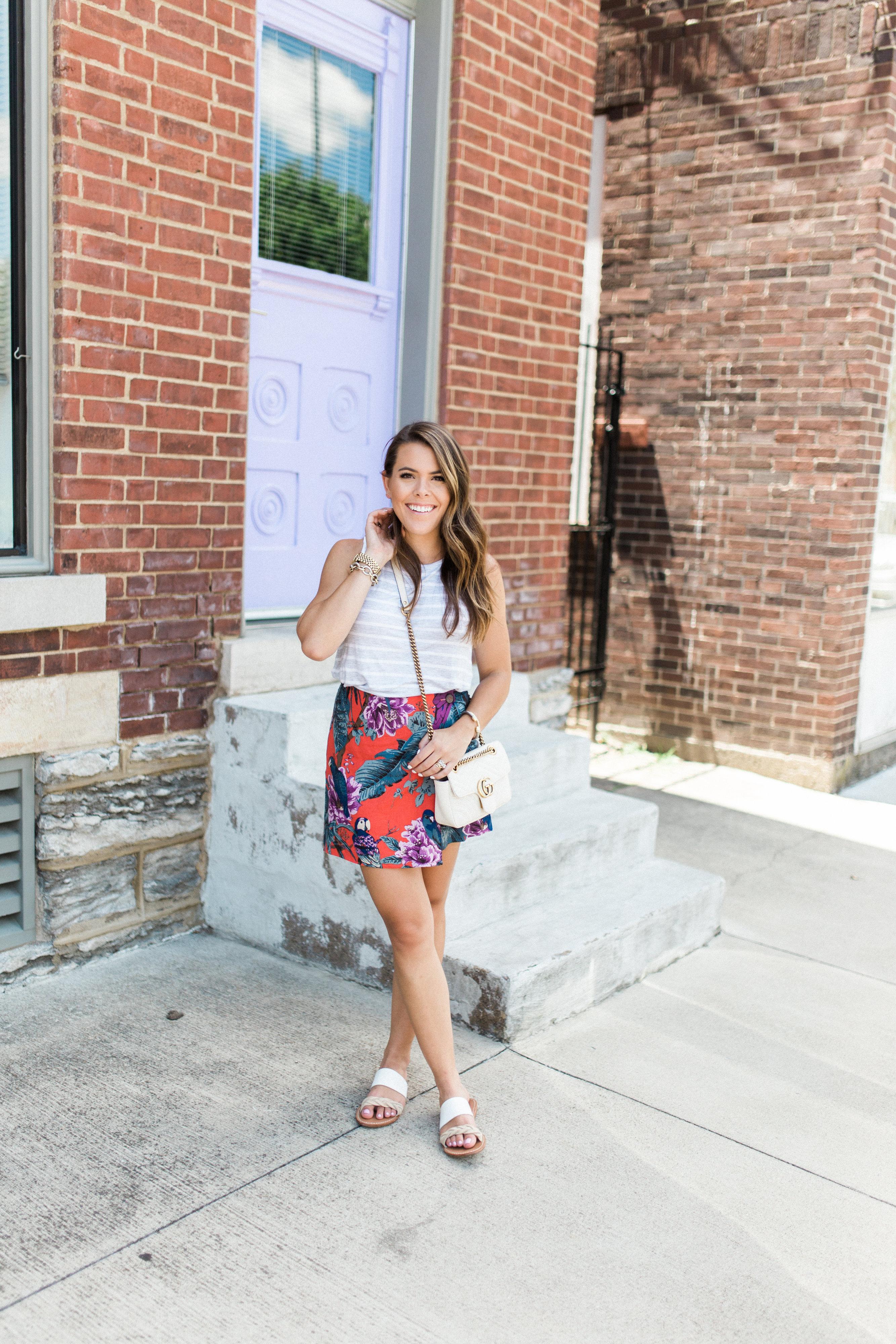 Tropical Skirt / Summer Style