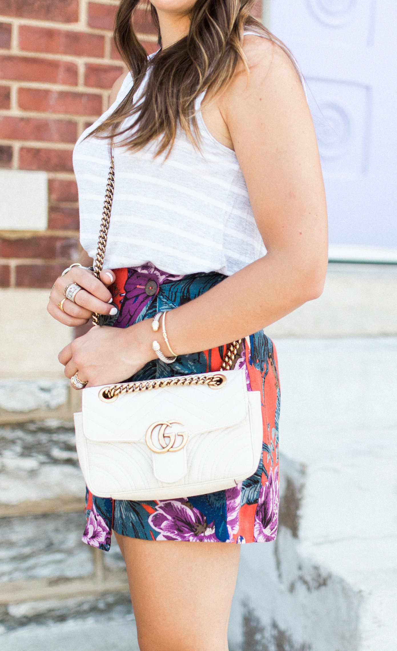 Tropical Skirt / Gucci Marmont