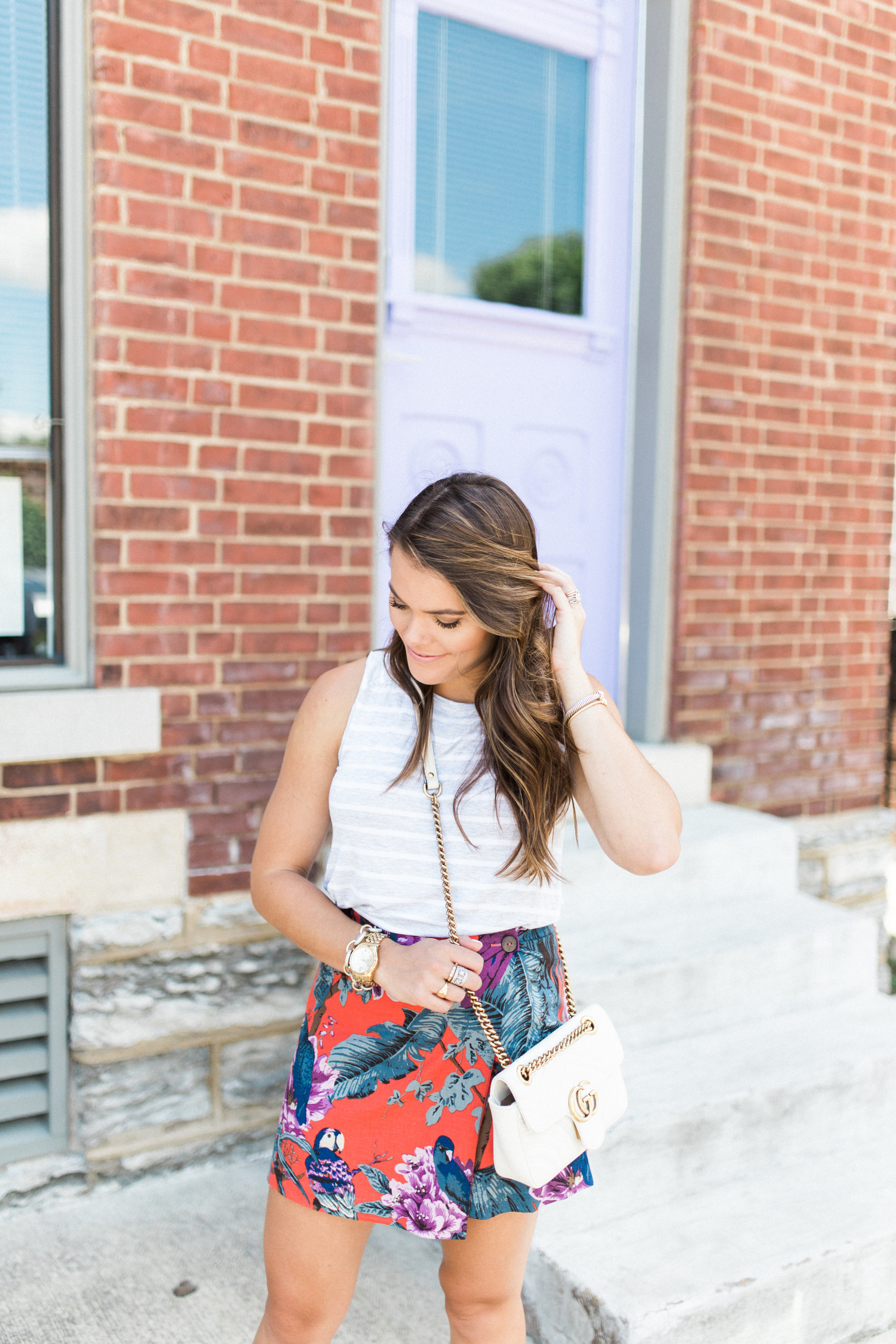 Tropical Skirt / Summer Outfit