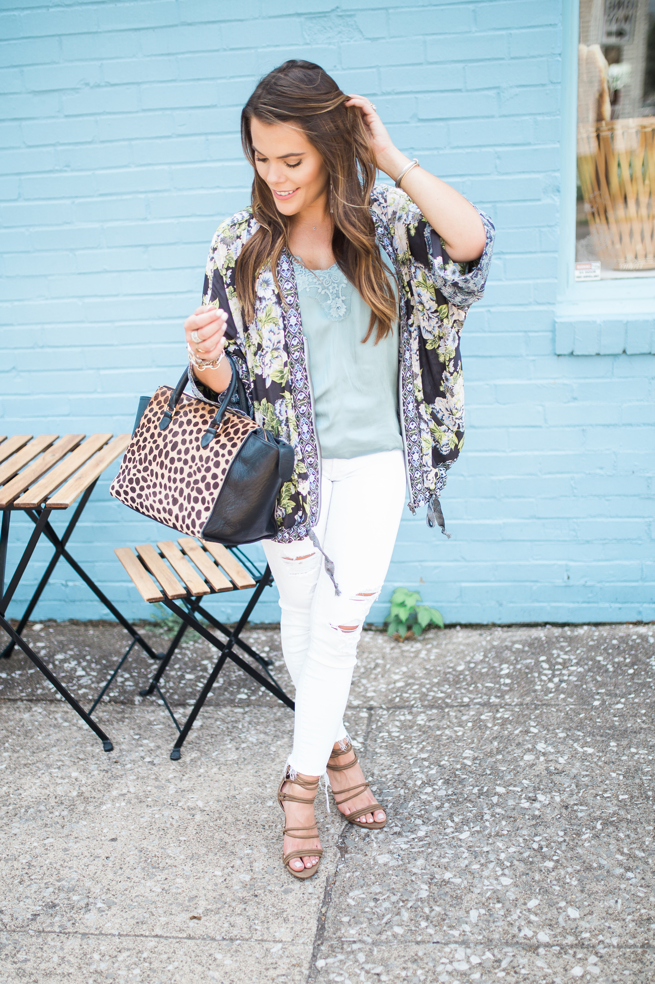 Floral Kimono For Fall / Summer to fall fashion