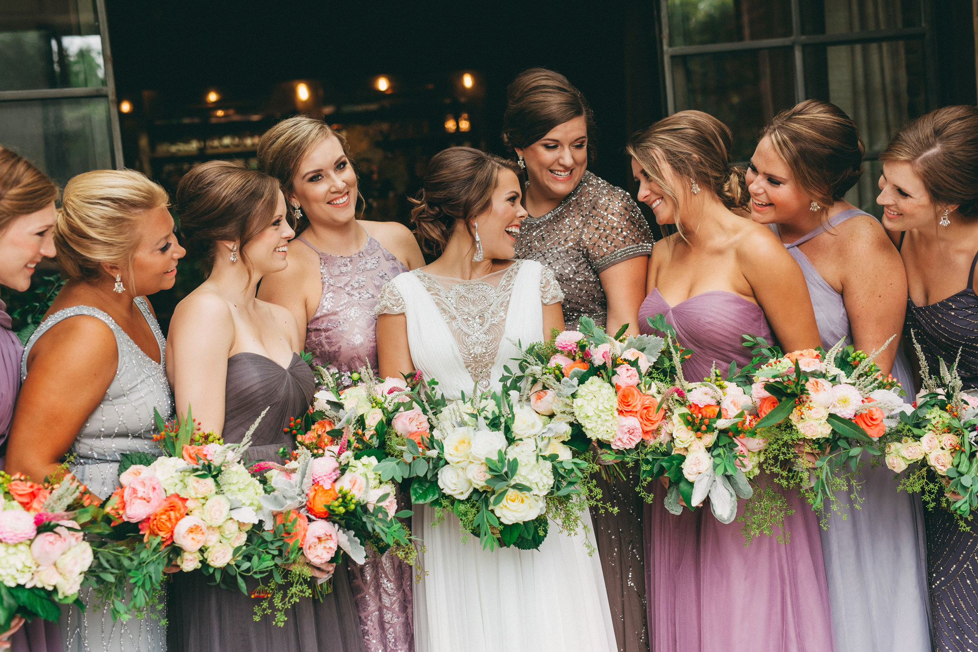 798c49d3cd1c How to mix & match bridesmaids dresses / Mix & Match Bridesmaids Dresses