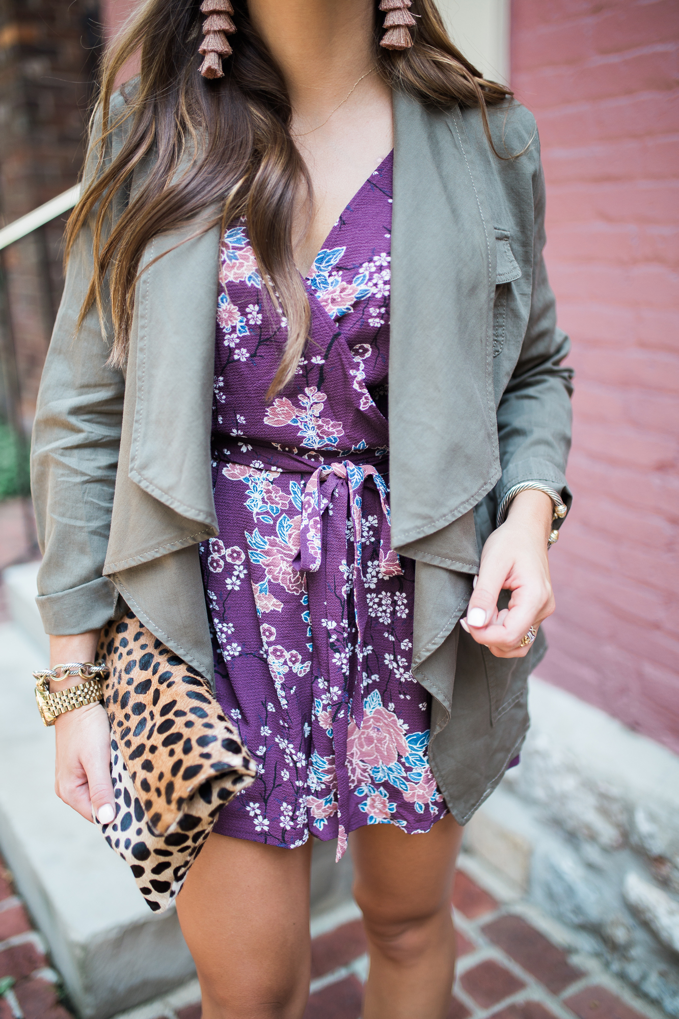Romper for fall / Summer to fall outfit idea