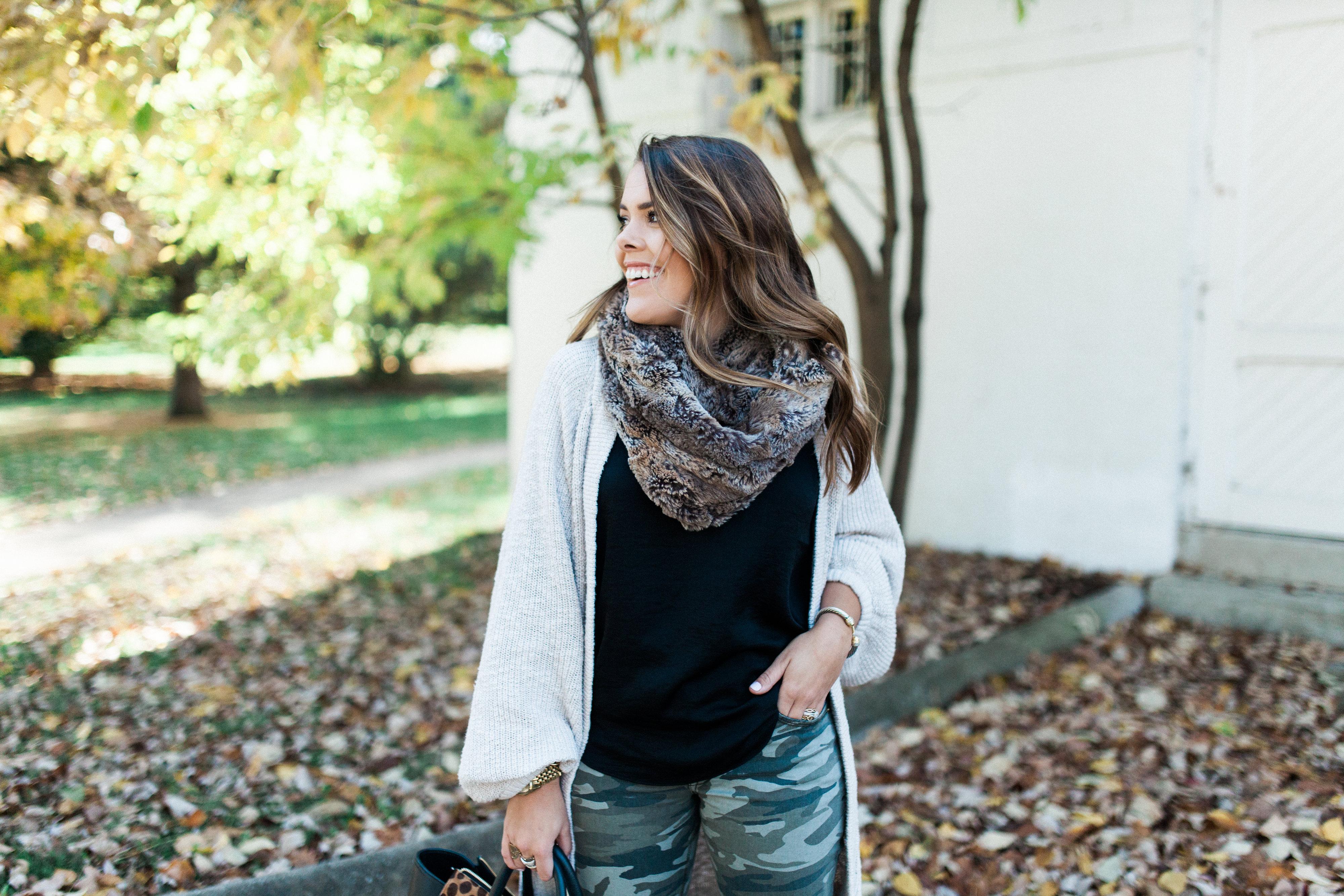 Camo Pants / Fall Outfit Idea