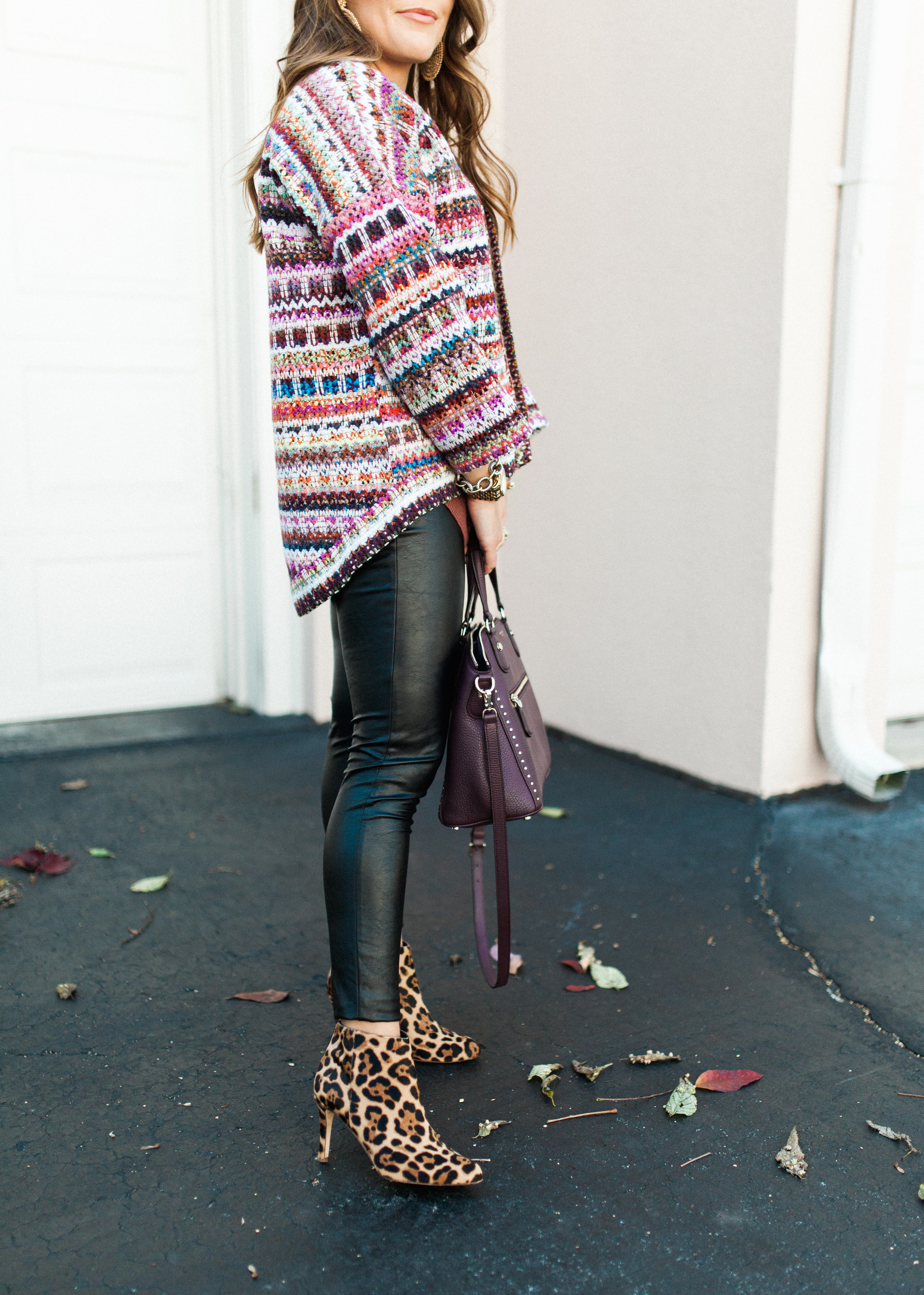 How to wear bright colors for fall