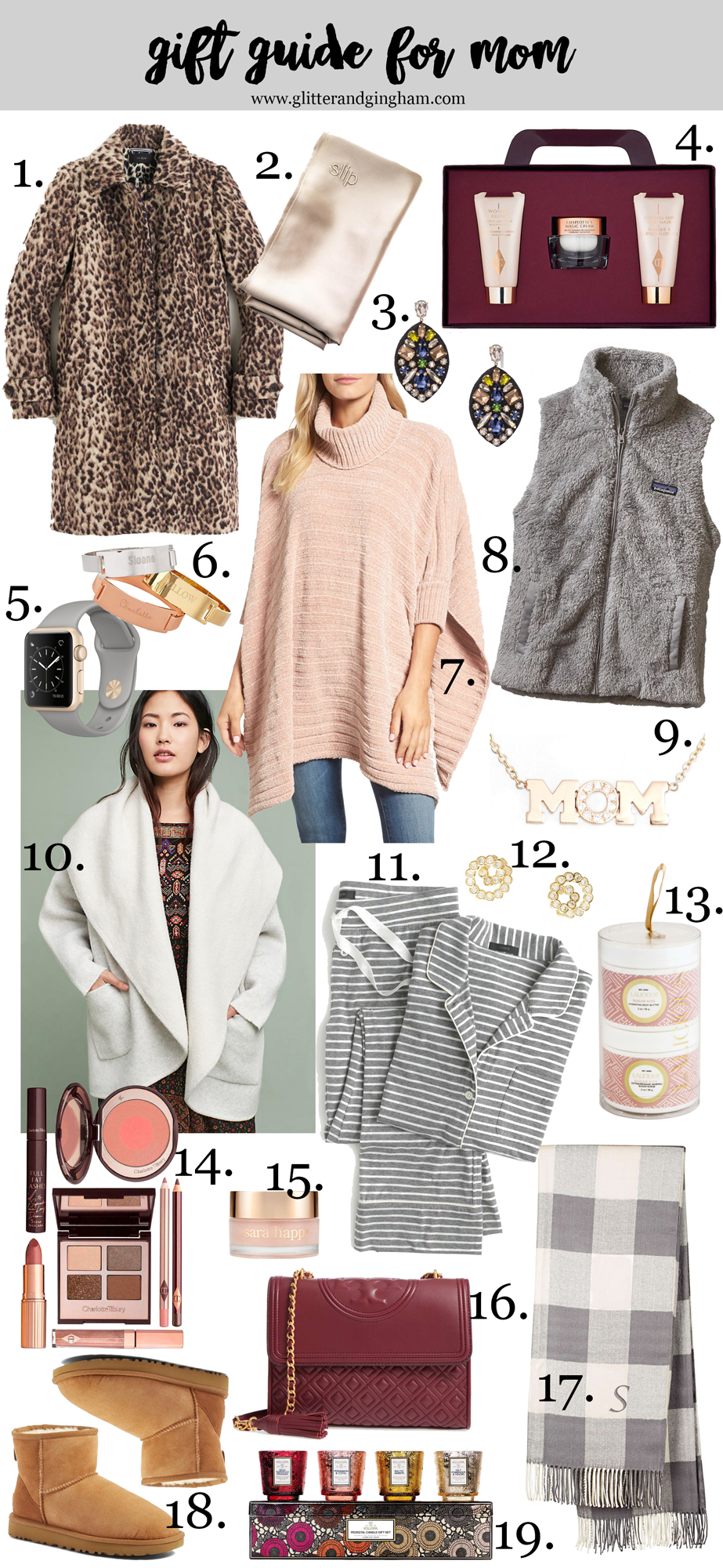 Holiday Gift Guide for Her / gift ideas for mom