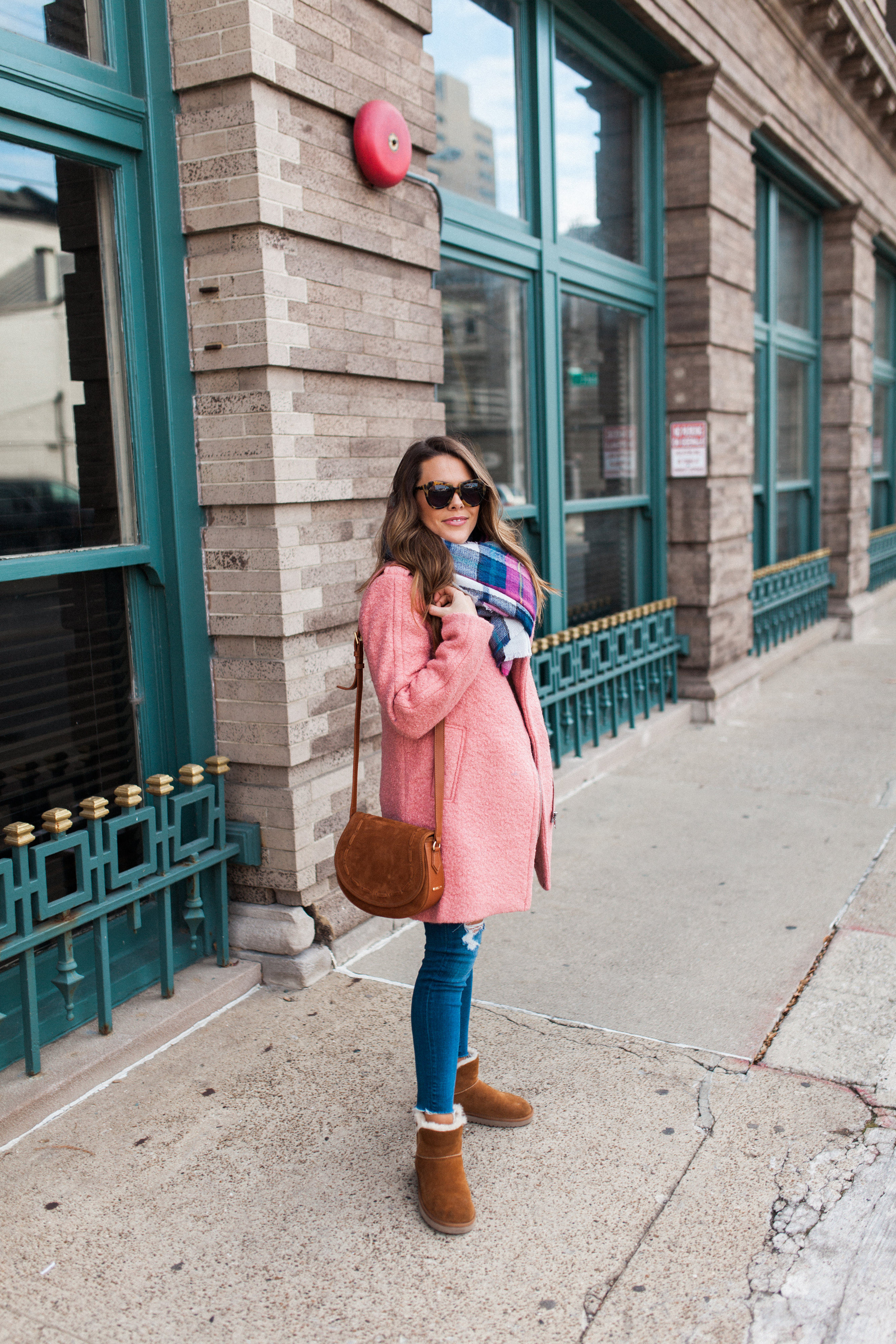 How to style a colorful coat