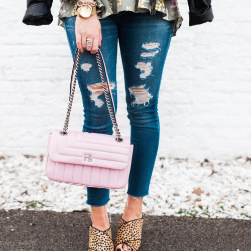 How to Wear a Leather Jacket for Spring