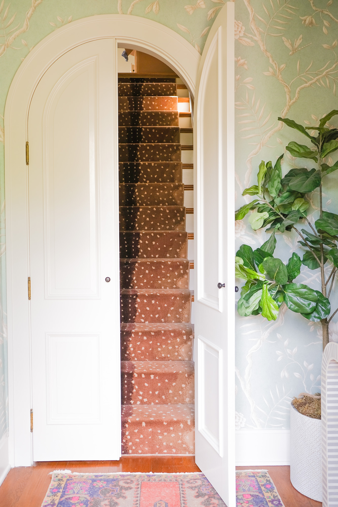 Colorful Entryway Decor