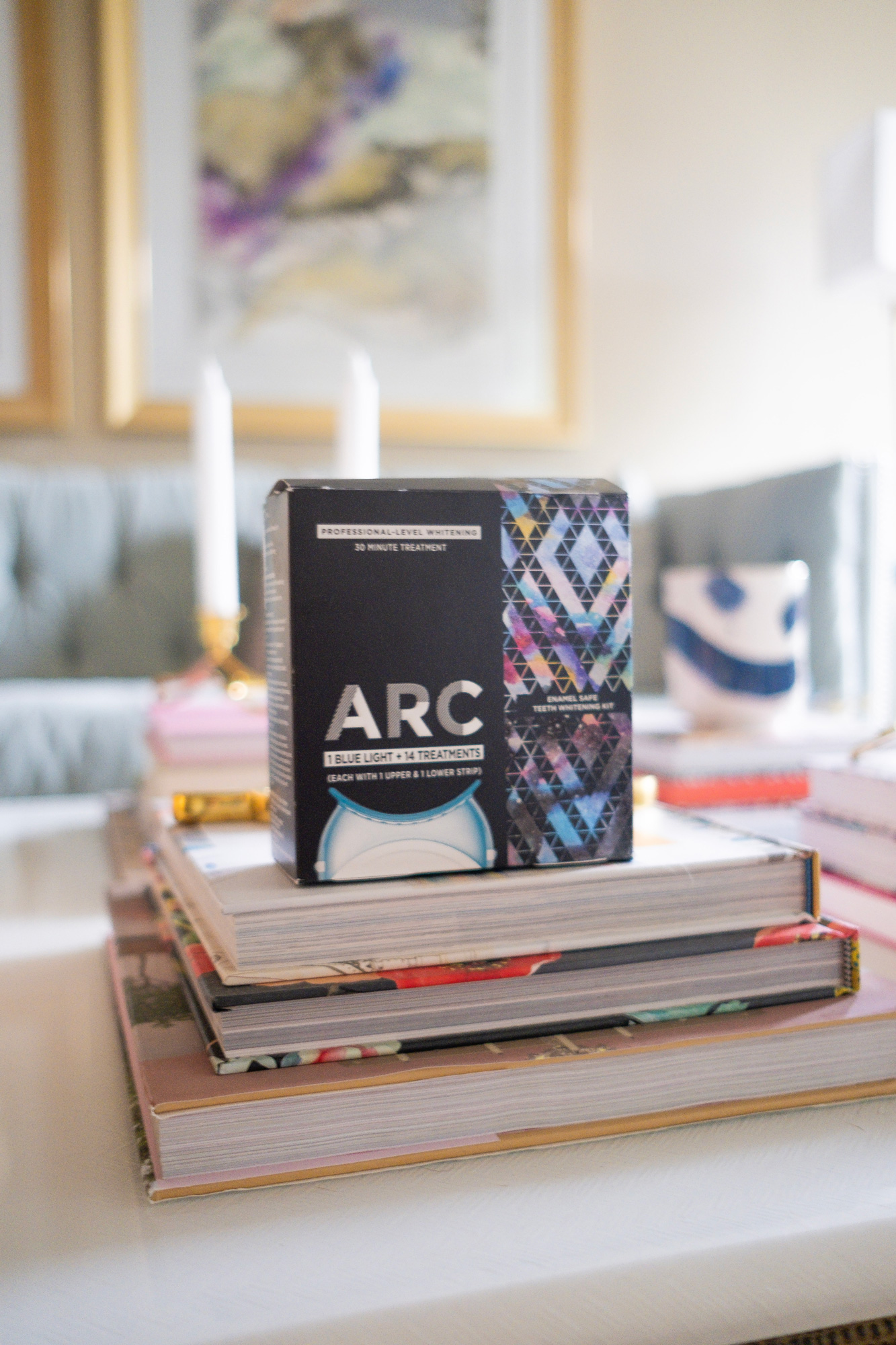 Confidence Is Key With Arc Teeth Whitening Glitter Gingham